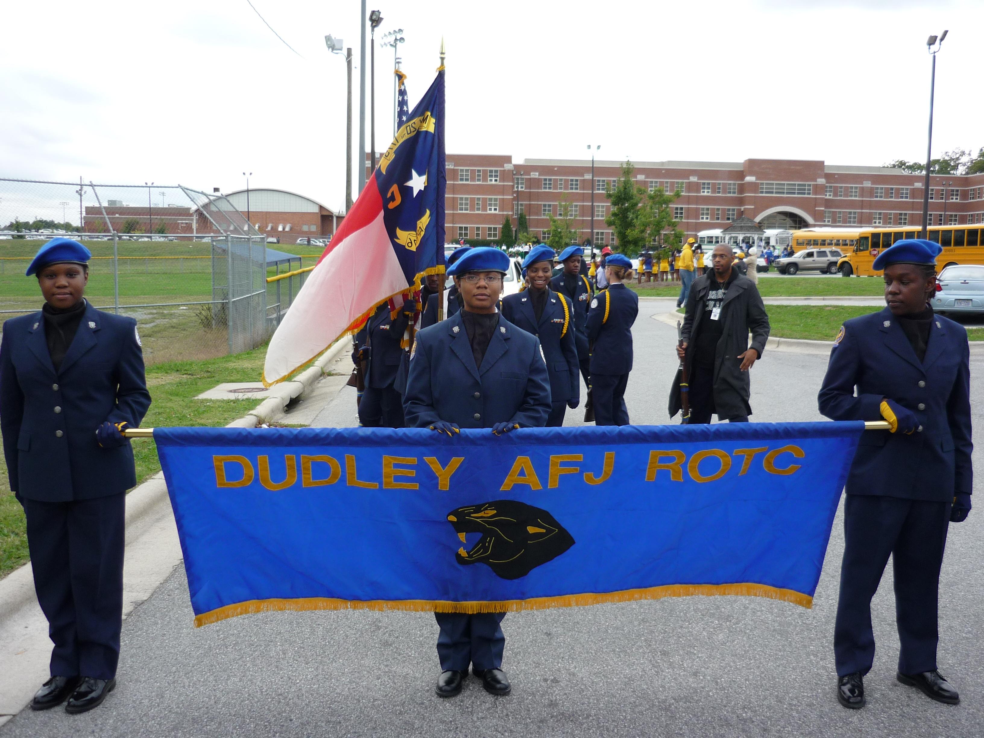 Nc 021 James Benson Dudley Senior High School Afjrotc